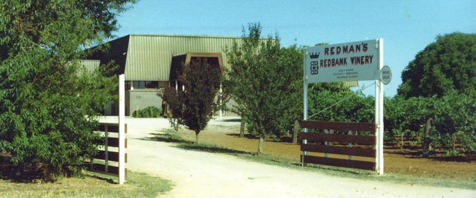 redman wines 50 years cellar door