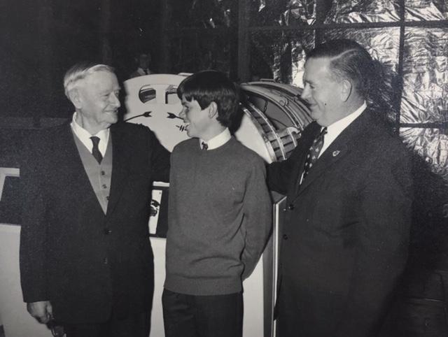 Bill Bruce and Owen Redman